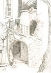 escalier place du Palais