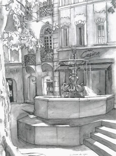 manosque fontaine